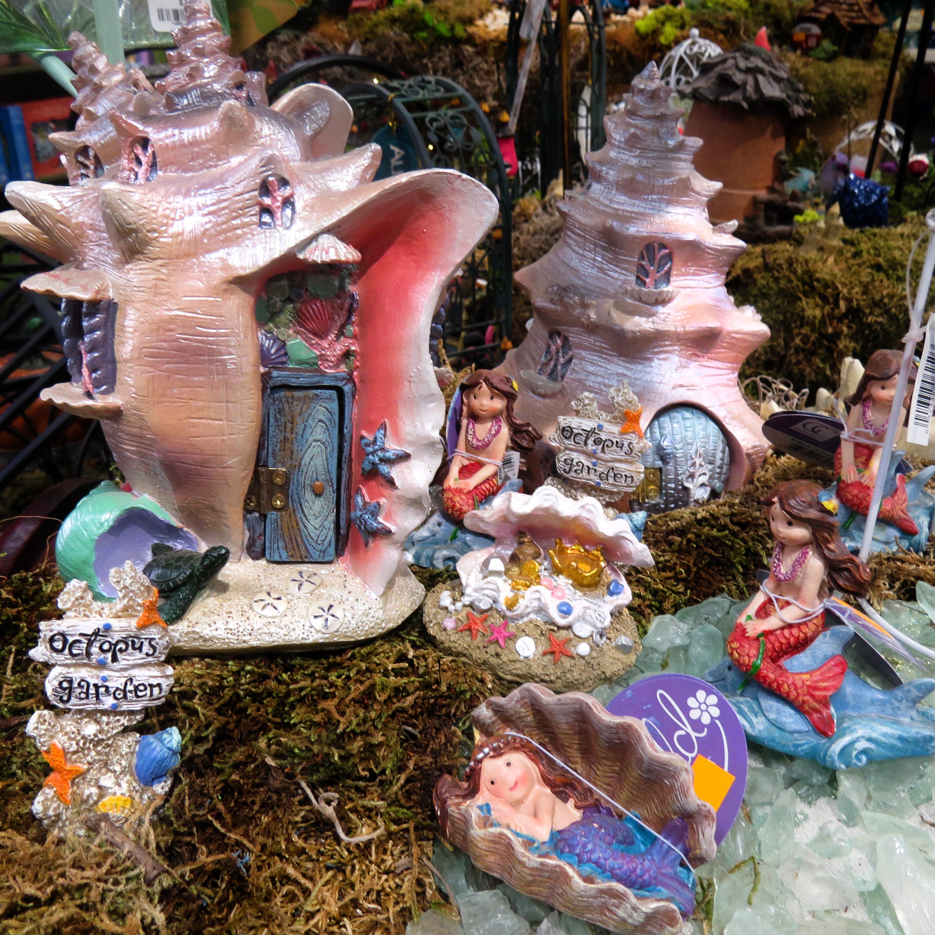 Christmas In Octopus Garden >> Fairy Gardens Garden Barn