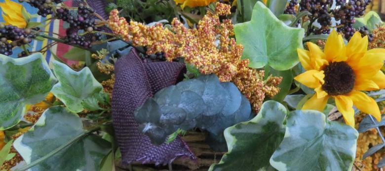 Garden Barn Silk Arrangement