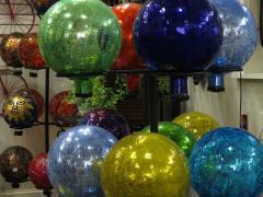 Garden Barn Gazing Globes